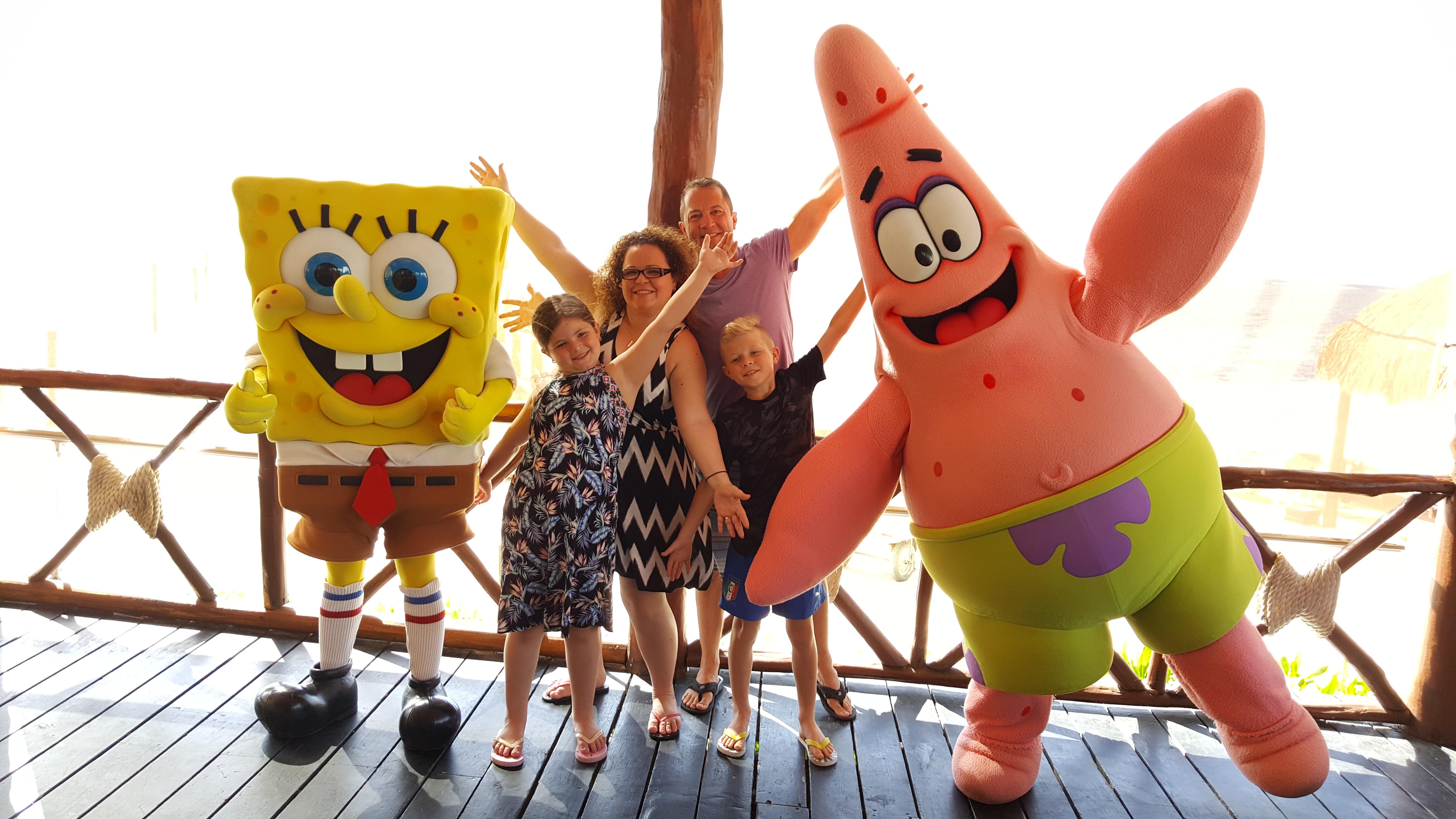 Nickelodeon Character Breakfast at Azul Beach Riviera Maya